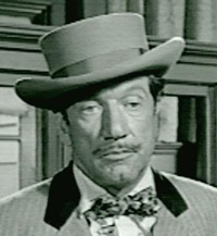 Richard Boone As Paladin, from Have Gun Will Travel