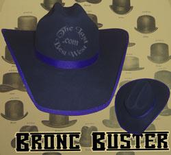 Bronc Buster Custom Handmade Hat