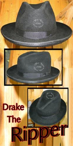 Drake the Ripper Fedora Hat