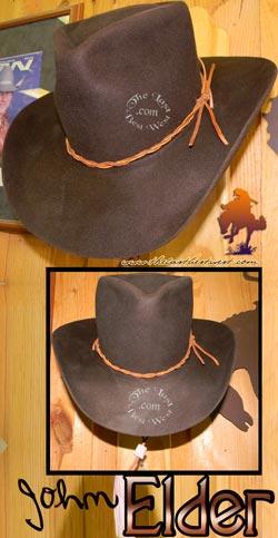 John Elder Cowboy Movie Hat