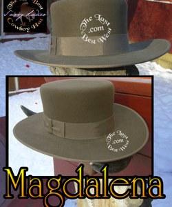 Magdalena Custom Handmade Hat