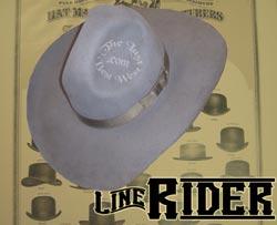 Line Rider Custom Handmade Hat