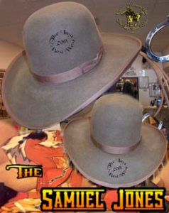 Samuel Jones Custom Handmade Hat