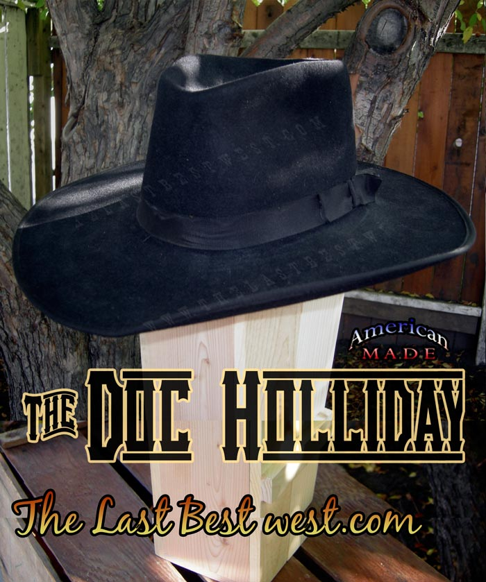 Doc Holliday Cowboy Hat