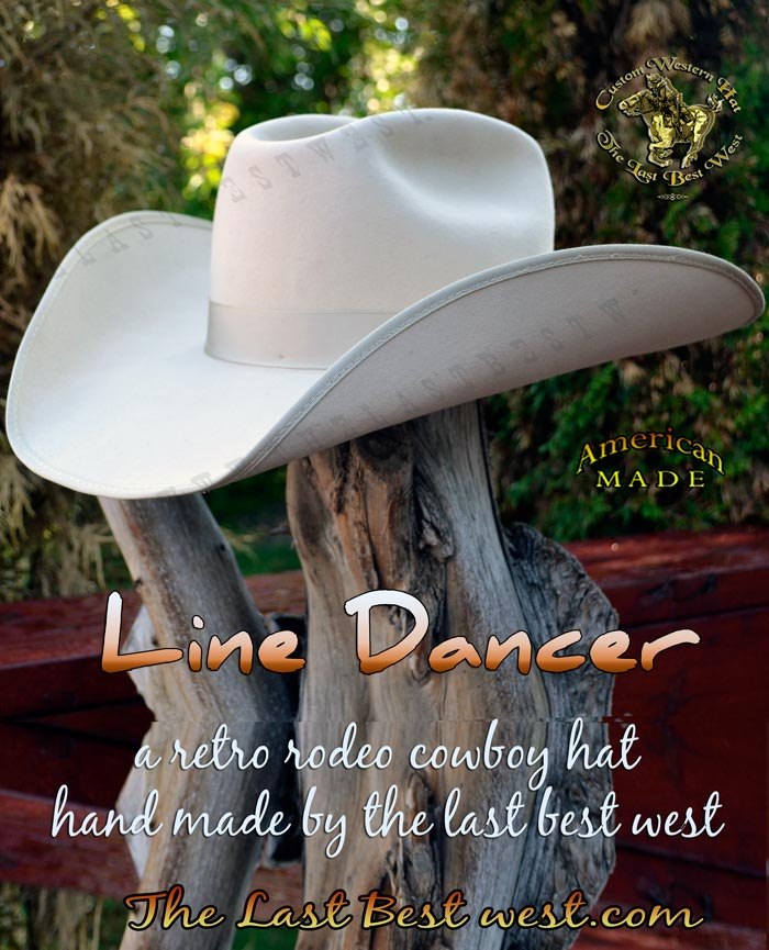 Line Dancer Custom Rodeo Hat