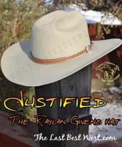 Justified Custom Handmade Hat