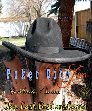 Poker City Jim B-Movie Hat