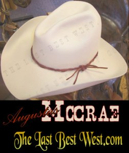 65066a118 Cowboy Movie Hats - The Last Best West