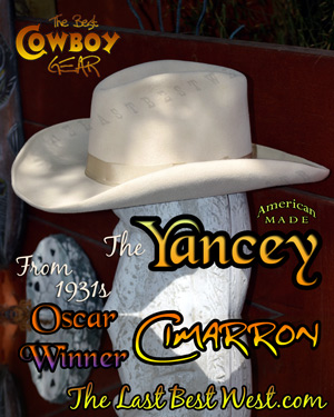 Cimarron Custom Movie Hat