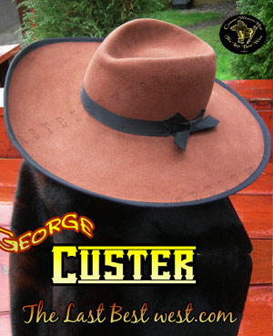 Custer Civil War Cowboy Hat