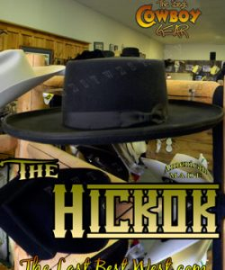 Hickok Old West Cowboy Hat