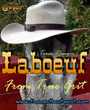 LaBoeuf Cowboy Movie Hat