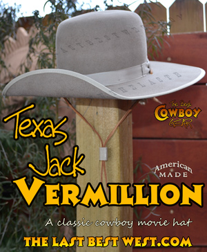 Texas Jack Vermillion Hat