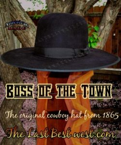 7c046e145ee Bohannon Cowboy Hat - The Last Best West