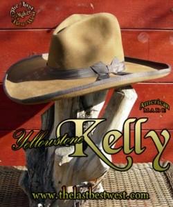 Yellowstone Kelly Custom Handmade Hat