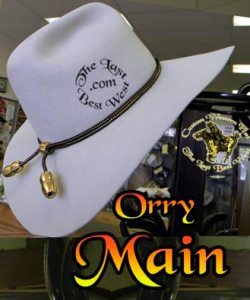 Orry Main Custom Cowboy Hat