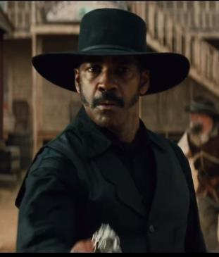 Denzel Washington as Sam Chisholm Magnificent Seven