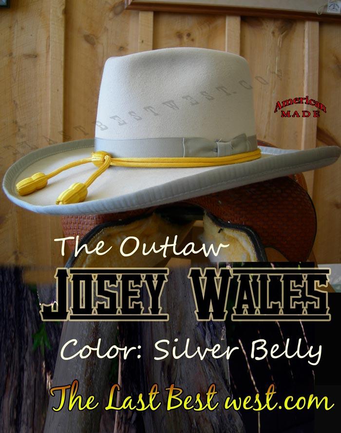Josey Wales Cowboy Hat - The Last Best West 3513f1a72b59