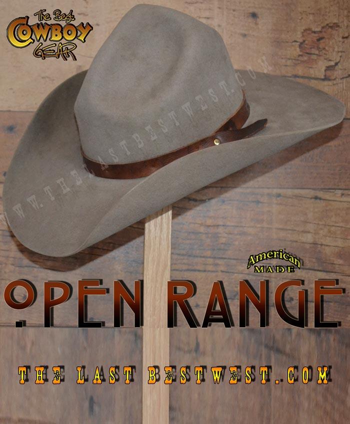 d135396f356 Open Range Cowboy Hat - The Last Best West