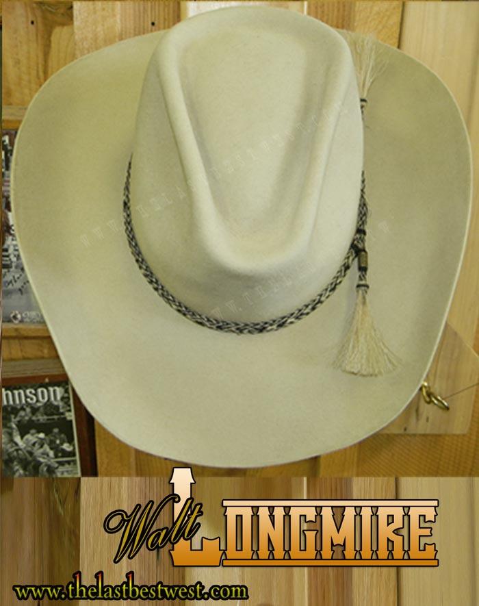 8ef56526450 Longmire Custom Handmade Hat - The Last Best West