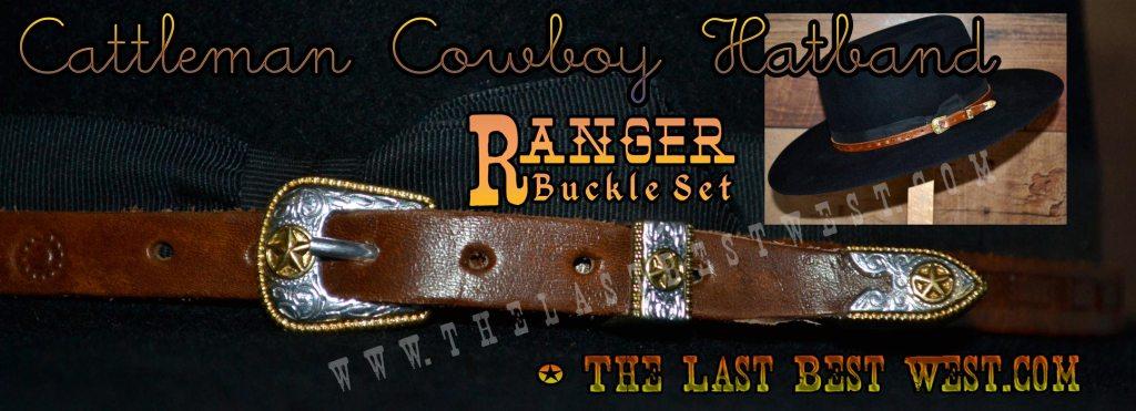 Cattleman Cowboy Hat Band