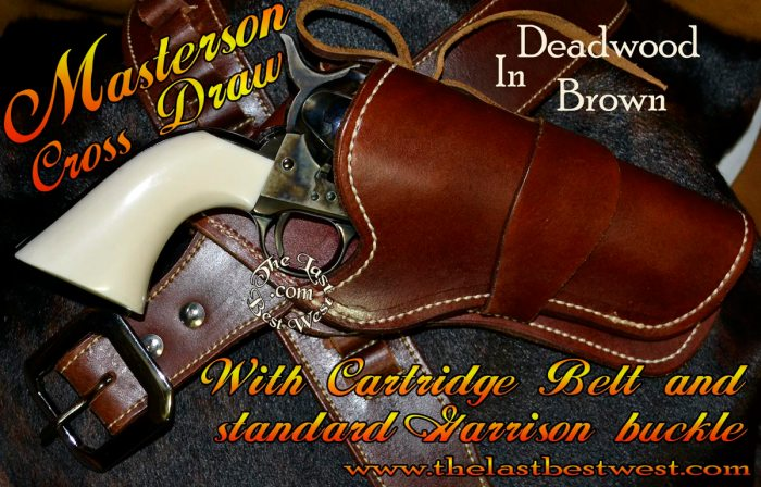 Masterson Hand Made Leather Holster