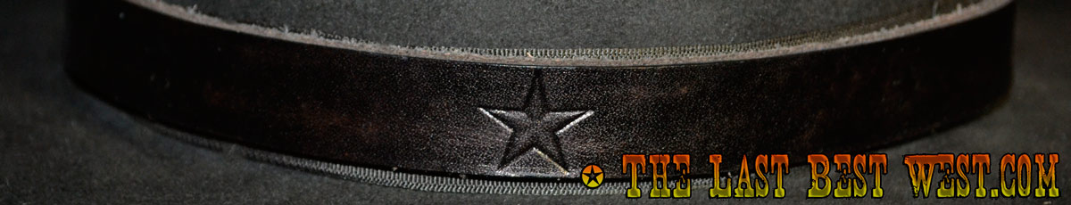 Texas hand made hat band