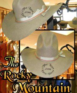 Rocky Mountain Ranger Cowboy Hat