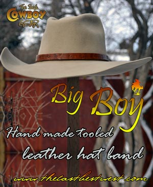 Big Boy Hatband