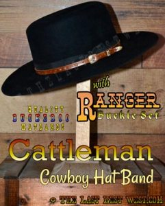 Cattleman Cowboy Hat Band