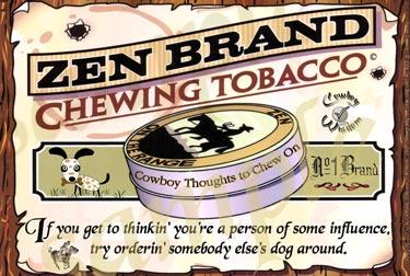 Zen Brand Dog Poster zen brand cowboy posters