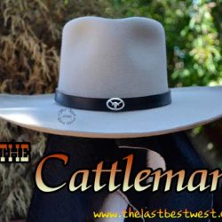 The Cattleman Custom Hat Band