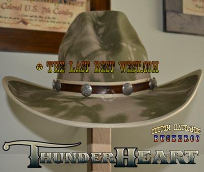 ThunderHeart Custom Hatband