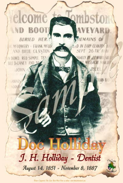 Doc Holliday Poster