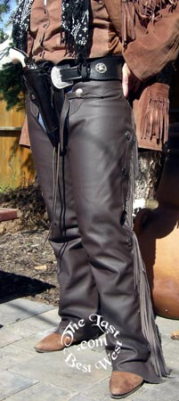 Lightweight shotgun Leather Chaps
