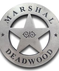 Marshal Deadwood Badge