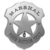Blank Marshal Badge