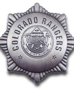 Colorado Rangers Badge