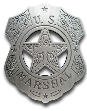 U.S. Marshal (Fancy) Badge