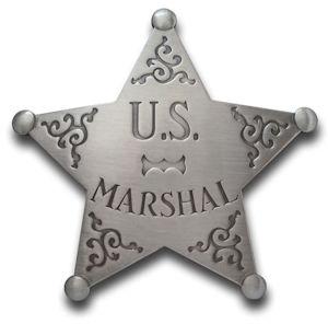 U.S. Marshal - Star Badge