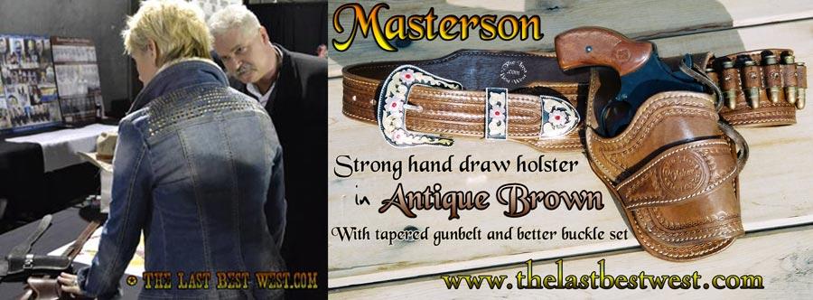 Masterson handmade holster