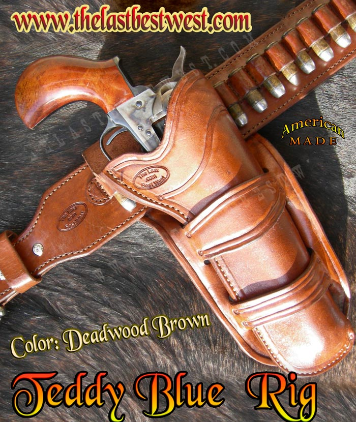 Teddy Blue Holster and Belt