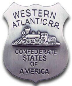 Western Atlantic RR Agent Badge
