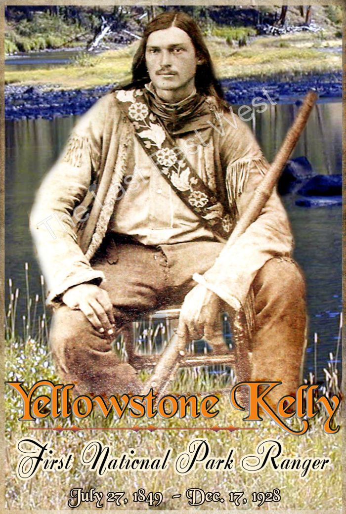 Yellowstone Kelly Poster