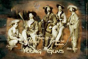 Young Guns Circa 1870 Poster