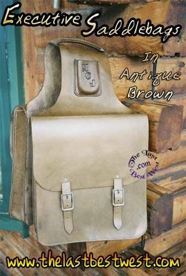 Executive Saddle Bags