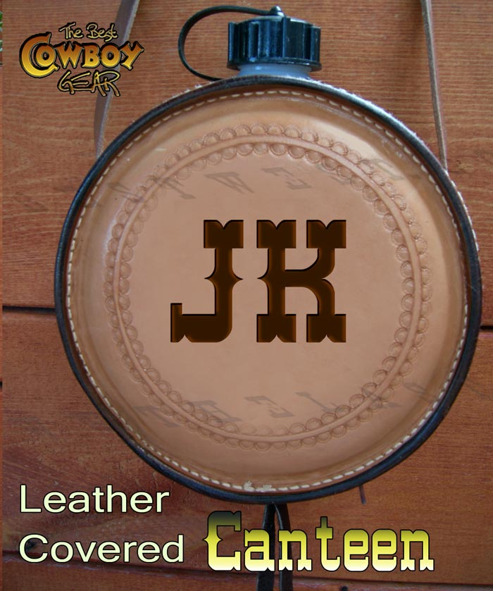 Leather Covered Canteen