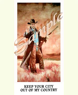 Best Cowboy Poster