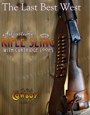 Leather Rifle Sling