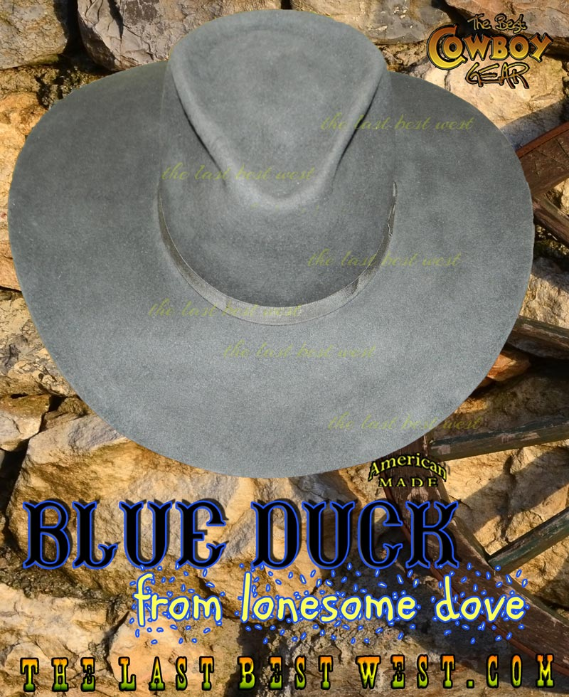 Blue Duck Cowboy Hat